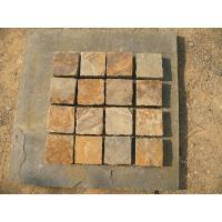 Wholesale China Rust Slate Tumbled Flagstone Patio Flooring Pavers Multicolor Slate Paving Stone from china suppliers