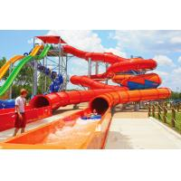 Wholesale Outdoor Installations Inground Pool Water Slide With Wild Long Thrill Rides from china suppliers