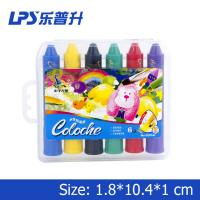 Wholesale Multicolor Art Water Soluble Crayons With Rotational Structure Rainbow Crayons from china suppliers