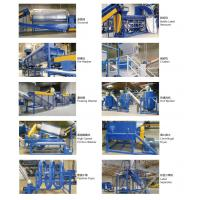 Wholesale 2000kg/h PET bottle hot washing line/recycling pet granulating making machine from china suppliers