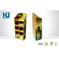 Wholesale Advertising Supermarket Floor Display With Full Color Printing Corrugated Display Stand from china suppliers