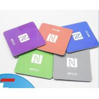 Wholesale NFC electronic tag NTAG213 NFC sticker with customized logo printing from china suppliers