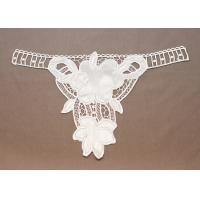 Wholesale Personalized White Lace Crochet Mesh Appliques Epaulet for Apparels & Hats from china suppliers