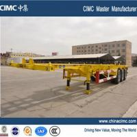 Wholesale 40' skeleton container trailers with 8 or 12 twist locks from china suppliers