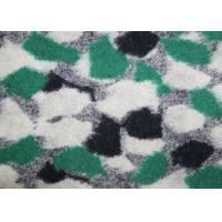 Wholesale Jacquard Craft Double Faced Wool Fabric By The Metre 530G / M Weight from china suppliers