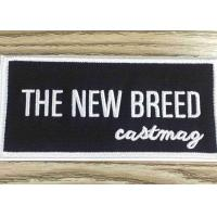 Wholesale Stick - On Custom Embroidered Patches And Badges Self Adhesive Label For Bag / Shoes from china suppliers