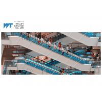 Wholesale 1000mm and 800mm width shopping mall escalator adopts skirt panel illumination adds charm to the running escalator from china suppliers