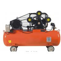 Diesel Belt Driven Piston Air Compressor With Double Gas Nozzle High Grade Aluminium Cylinder
