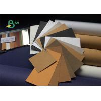 Wholesale DIY Colorful Washable Kraft Paper Fabric 150cm X 110 Yard Surface Smoothness from china suppliers