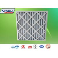 Quality High Performance G3 / G4 Synthetic Filter Media / Industrial Primary Efficiency HVAC Pre Air Filter for sale