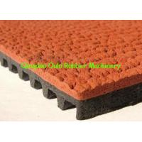 Wholesale Continuous Rubber Mat Machine , Prefabricated Type Track Rubber Production Line from china suppliers