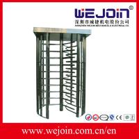 Wholesale 80W Security Entrance Gate Full Height Turnstile pedestrian barrier from china suppliers