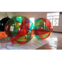 Wholesale Giant Inflatable Advertising Balloons , 3m Transparent Inflatable Beach Ball from china suppliers