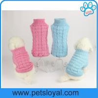 Wholesale Factory Pet Supply Warm Fashion Cheap Soft Pet Coat Dog Clothes from china suppliers