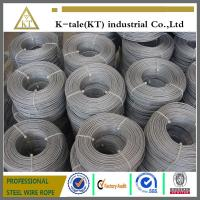 ASTM standard galvanized aircraft cable for America