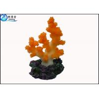 Wholesale Colorful Coral Aquarium Tank Decorations / Resin Cleaning Fish Tank Ornaments Products from china suppliers