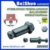 Buy cheap High Quality  Hot Sales Carbon steel  Zinc plated Hot dip Galanised  Expansion Anchor Bolt and Wood Anchor Bolt from wholesalers