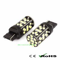 Quality T20 48LED 3528SMD High Power Tagfahrlicht Scheinwerfer Auto Birnen Blau 12V for sale
