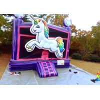 Wholesale Attractive Colorful Adult Size Bounce House Digital Printing For School Festivals from china suppliers