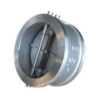 Wholesale API 594 API6D Cast Steel Wafer type Double Disc Swing Check Valve from china suppliers