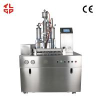 Wholesale Low Noise Semi Automatic Aerosol Filling Machines For Hair Spray / Styling Gel from china suppliers