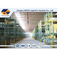 Wholesale Structural Pallet RackingFor Storage Solutions , Metal Storage Racks Heavy DutyFirm Durable from china suppliers