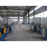 Wholesale Automatic Continuous Cable Extrusion Machine With Controlled Invert / PLC Electrical Control from china suppliers