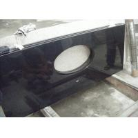Wholesale Black Dupont Granite Bathroom Vanity Tops , Granite Overlay Countertops With 1 Faucet  Hole from china suppliers