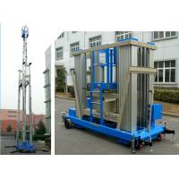 Wholesale 136kg Load Vertical Mast Lift 18 M Aluminum Alloy Hydraulic Aerial Work Platform from china suppliers