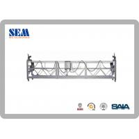 Wholesale ZLP630 Aluminum Swing Stage Scaffolding With 100m For Scaffolding Rental from china suppliers