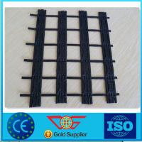 Wholesale High Tensile Polyester Fiberglass Geogrid Low Elongation For Harbours 100KN CE from china suppliers
