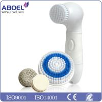 Wholesale Rotary Face Exfoliate And Skin Care Device / Cleansing Brush With 4 Replacement Heads from china suppliers