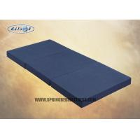Wholesale High Density Oxford Fabric  Three Sponge Mattress Topper For Travel Foldable from china suppliers
