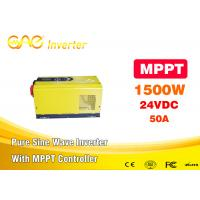 Wholesale 1500w Low Frequency Mppt  Home Solar Inverter Off Grid UPS Pure Sine Wave Dc To Ac 24 Volt Inverter from china suppliers