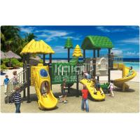 Buy cheap Eco - Friendly Play Gym Outdoor Playground Equipment Anti - Crack 3 Years Warranty from wholesalers