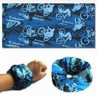 Wholesale Multifunctional Seamless Bandana/Headwear, Various Designs and Colors are Available from china suppliers