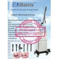 Buy cheap Beijing Sincoheren FDA K and Medical CE approved Fraxel frational Co2 laser with vaginal tips from wholesalers