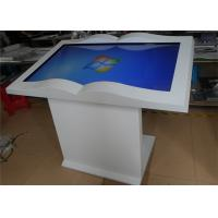 Wholesale Waterproof 46 Inch Touch Screen Displays Floor Stand All In One Table Kiosk from china suppliers