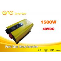 Wholesale Off grid solar inverter 1000w 1500w 50H Z/ 60HZ , 48v - 240v power dc ac inverter from china suppliers