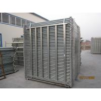 Wholesale Heavy duty galvanized 2.1*1.8m livestock fence farm femce cattle fence cattle yards panels for sale 1.6m x 2.1m fencing from china suppliers