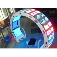 Wholesale 10mm Flexible Curved LED Screen P6 LED Screen 1R1G1B SMD3030 from china suppliers