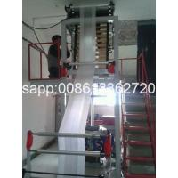 Wholesale Automatic Double Winder PE Film Blowing Machine HDPE Blown Film Extrusion Line from china suppliers