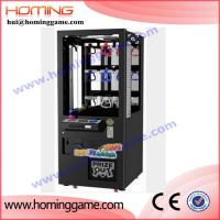 Quality 2016 Newest key master vending game machine in money playland game mini toy claw machine(hui@hominggame.com) for sale