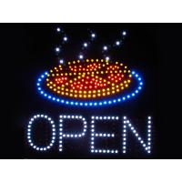 Wholesale 530x450mm customised OPEN led sign for pizza store from china suppliers