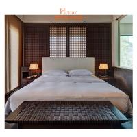 Wholesale Natural + Veneer Hotel Bedroom Furniture Solid Wooden Bedroom Set Southeast Style from china suppliers