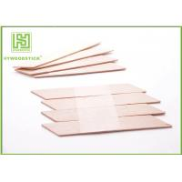 Wholesale EO Sterilize Face Cream Spatula , Disposable Wooden Cuticle Sticks from china suppliers