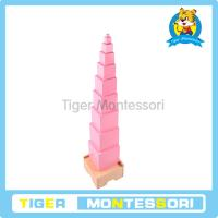 Wholesale Montessori materials-Pink Tower from china suppliers