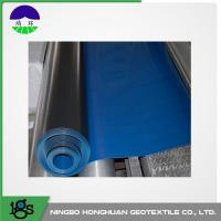 Wholesale Ultra Tech HDPE Pond Liners Textured Black For Canal 1.00mm PE from china suppliers