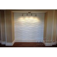 Quality Eco natural 2440mmx1220mmx15mm 3D MDF decorative WALL PANEL for sale