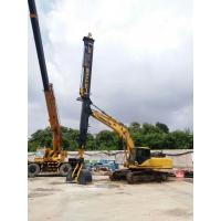 Wholesale Digging Equipment Foundation Construction Tools , Max Vertical Digging Depth 26M Excavator Telescopic Boom from china suppliers